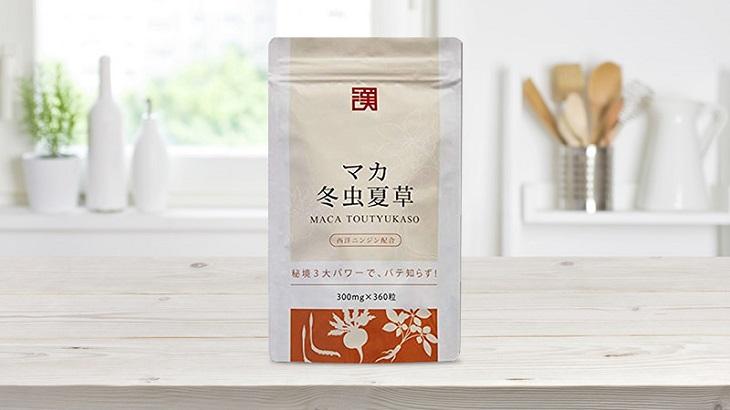 Maca đông trùng hạ thảo Nhật Bản