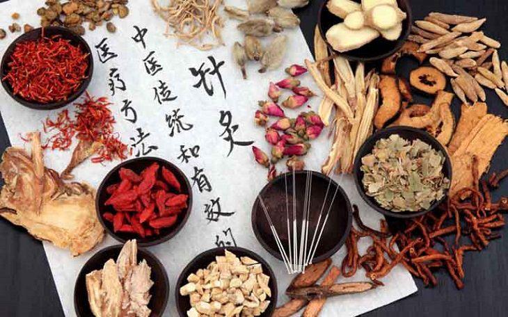 Một số dược liệu trong Đông y được kết hợp để chữa bệnh này