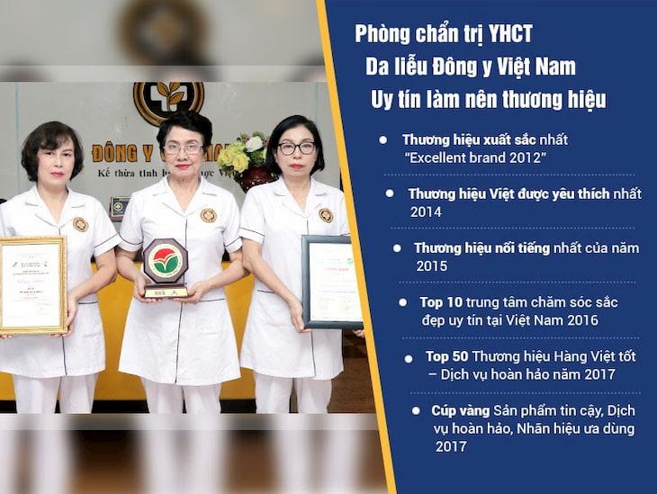 Đội ngũ bác sĩ uy tín, lành nghề tại Trung tâm Da liễu Đông y Việt Nam