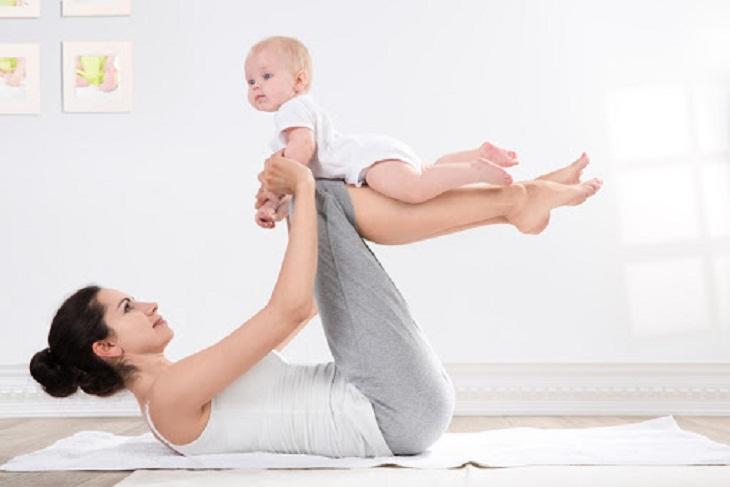 Các bài tập Yoga giúp mẹ bầu nhanh chóng giảm cân sau sinh