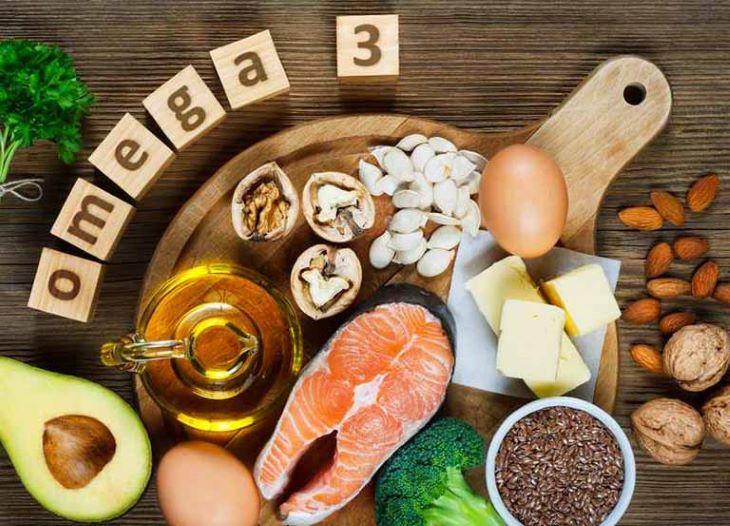 Người bệnh bị viêm đại tràng co thắt nên tăng cường bổ sung omega 3