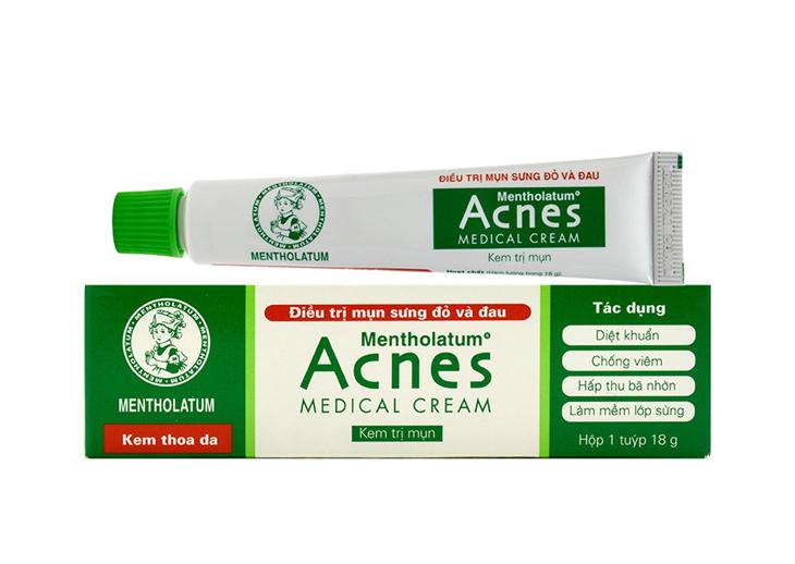 Kem trị mụn ẩn của Nhật Acnes Medical Cream