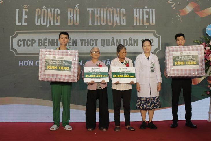 Bệnh viện trài trợ chi phí điều trị cho bệnh nhân có hoàn cảnh khó khăn