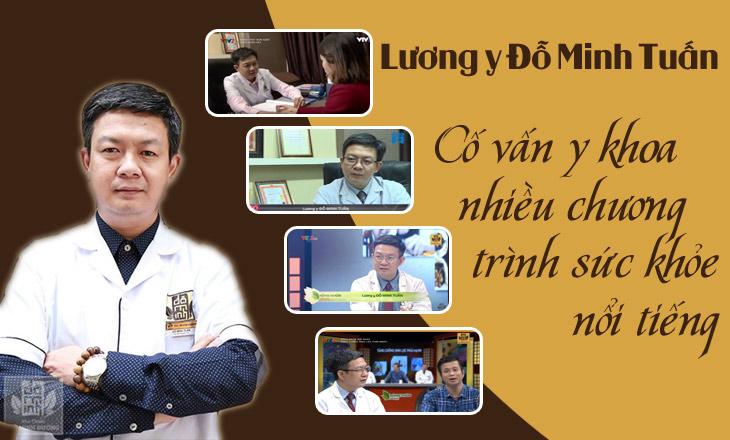 """Lương y Đỗ Minh Tuấn được """"chọn mặt gửi vàng"""" trong nhiều chương trình sức khỏe"""