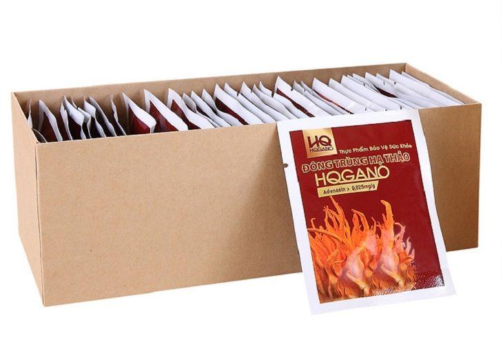 Đông trùng hạ thảo HQGANO có nhiều công dụng với sức khỏe