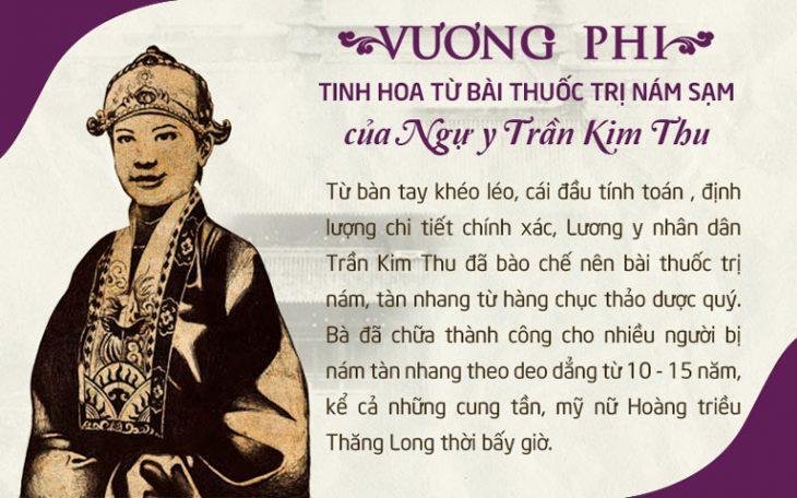 Ngự y Trần Kim Thu được các mỹ nữ Hoàng triều Thăng Long yêu quý, kính trọng
