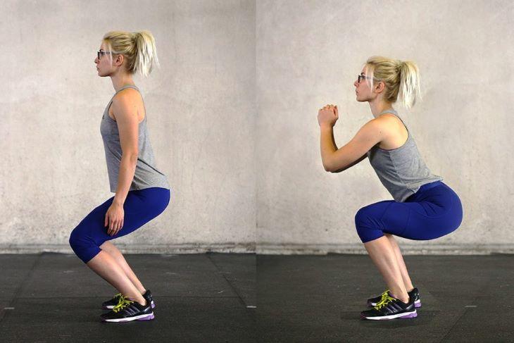 Cách tập gym giảm cân ngày thứ 4 với động tác sâu đo