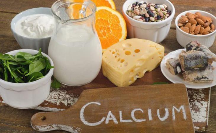 Một số loại thực phẩm có chứa nhiều canxi nên bổ sung trong thực đơn ăn uống hàng ngày