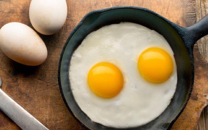 Trứng là món ăn được khuyên dùng nhiều trong thực đơn Keto