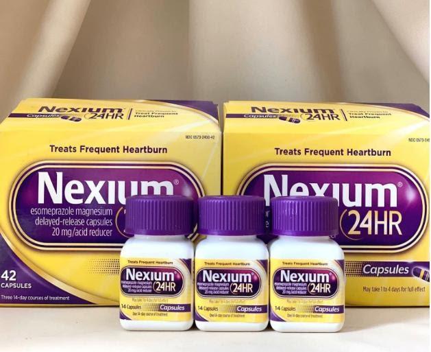 Nexium 24hr được dùng để đặc trị chứng trào ngược dạ dày - thực quản
