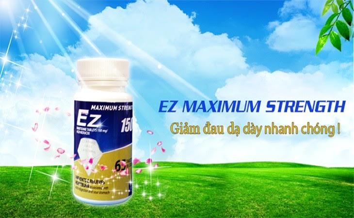 Ez Maximum Strength là một loại thuốc đặc trị trào ngược hiệu quả