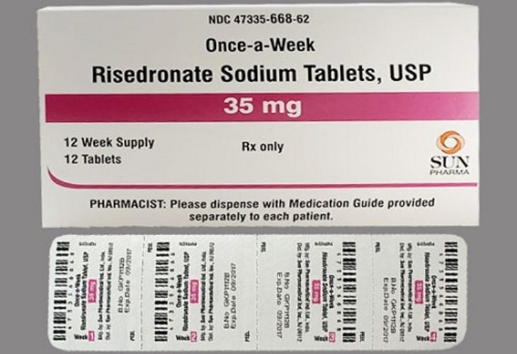 Thuốc Risedronate điều trị loãng xương