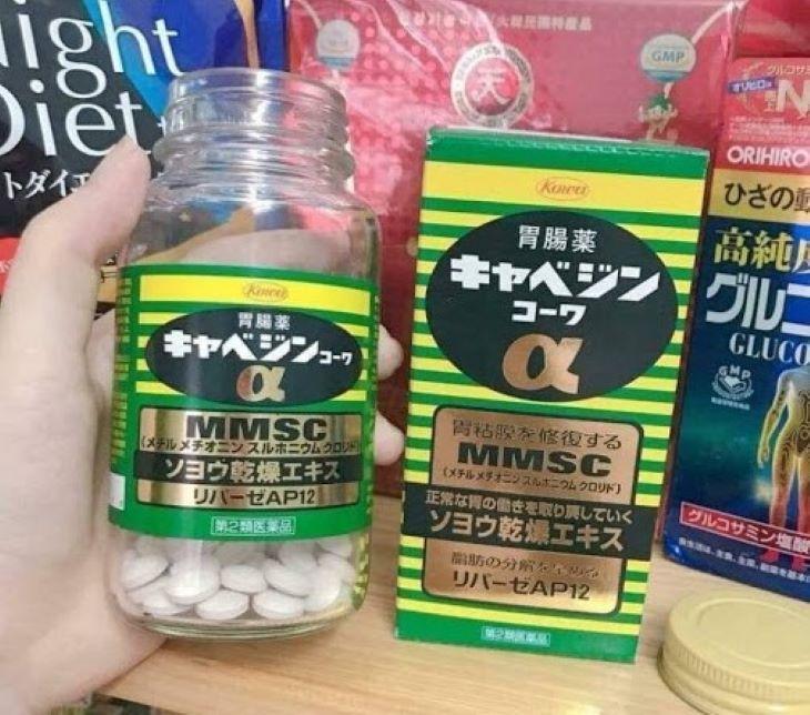 Thuốc trị vi khuẩn Hp trong dạ dày của Nhật - Kyabeijin MMSC Kowa