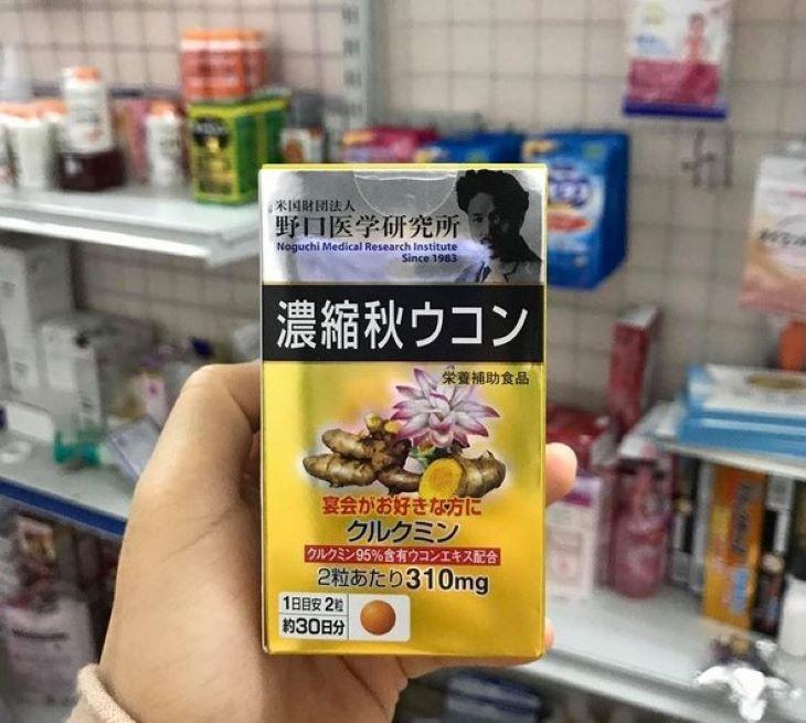 Viên uống nghệ Noguchi của Nhật Bản được rất nhiều người bệnh dạ dày tin dùng