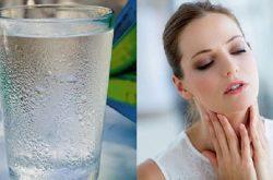 Uống nước đá có thể gây xung huyết niêm mạc hô hấp