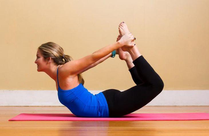 Tư thế yoga vòng cung