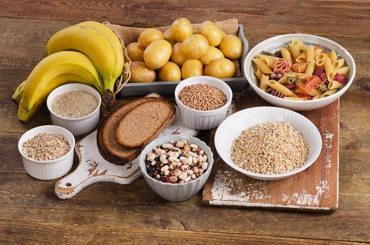 Sử dụng các thực phẩm chứa tinh bột tốt để đảm bảo cung cấp đủ năng lượng cho cơ thể nhưng không làm tích tụ mỡ thừa
