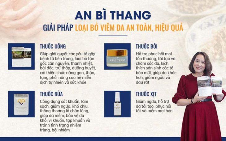 Những chế phẩm trong bài thuốc An Bì Thang điều trị viêm da cơ địa