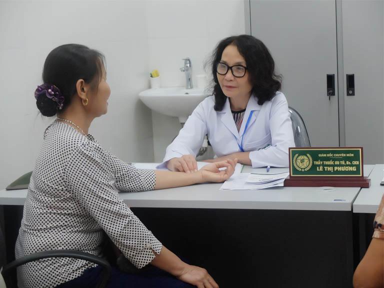 Bác sĩ Lê Phương chữa xương khớp bệnh viện Quân dân 102