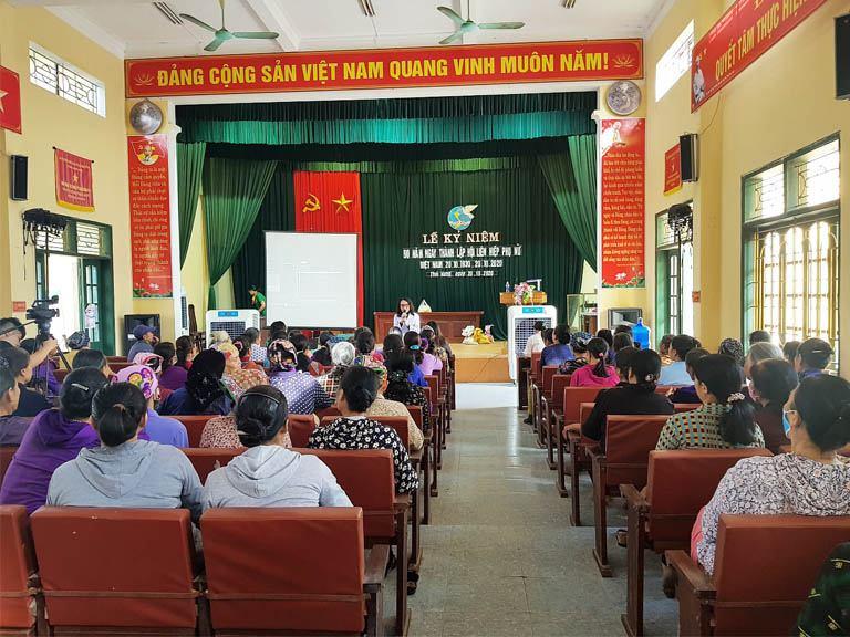 Bác sĩ Lê Phương tư vấn sức khỏe, khám chữa bệnh miễn phí cho người dân tỉnh Thái Bình