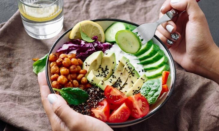 Xây dựng chế độ ăn hợp lý để tăng hiệu quả bài tập