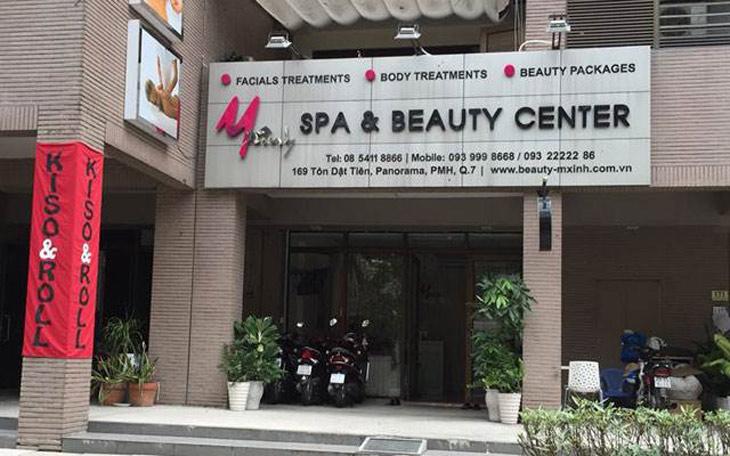 Trị mụn hiệu quả tại Spa Beauty MXINH