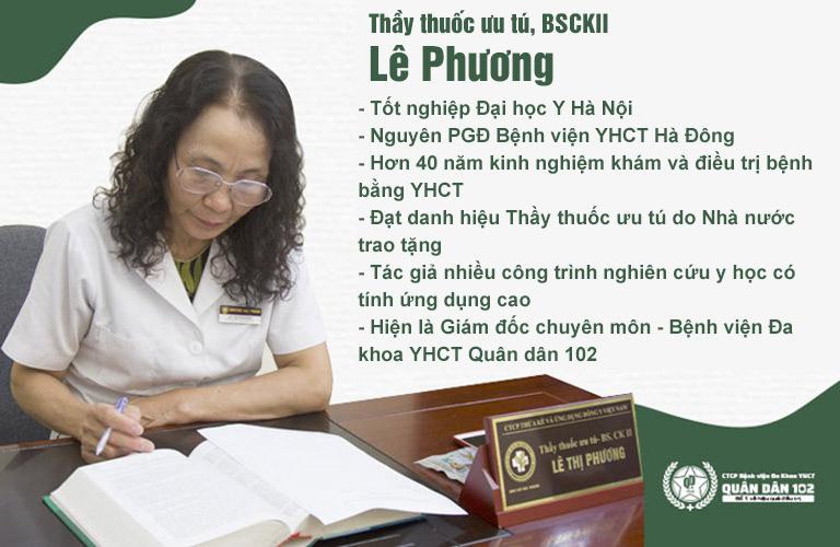 Bác sĩ Lê Phương - Giám đốc chuyên môn Bệnh viện Xương khớp Quân dân 102