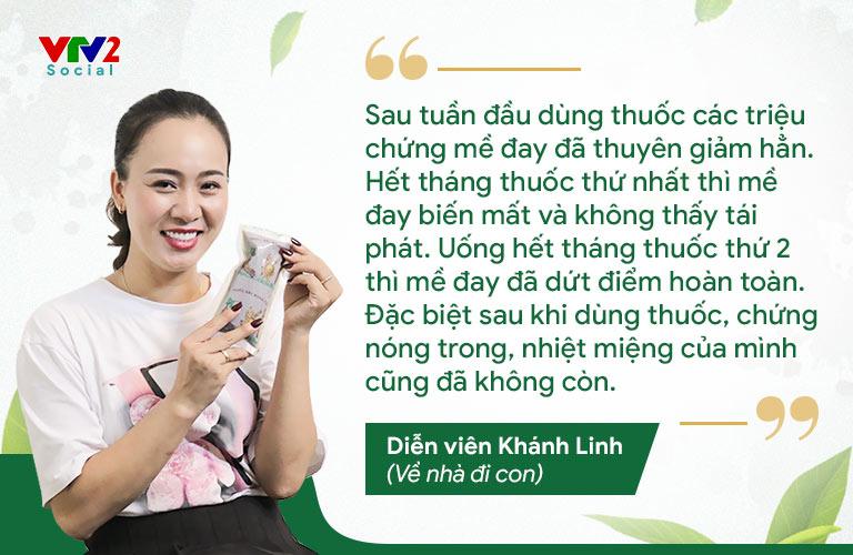 Diễn viên Phùng Khánh Linh đặc trị dứt điểm mề đay mẩn ngứa bằng bài thuốc Tiêu ban Giải độc thang