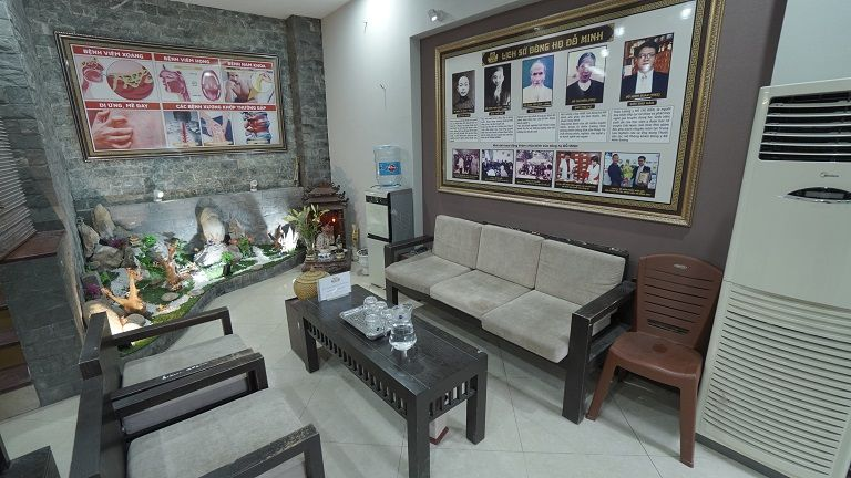 Hình ảnh bên trong nhà thuốc Đỗ Minh Đường