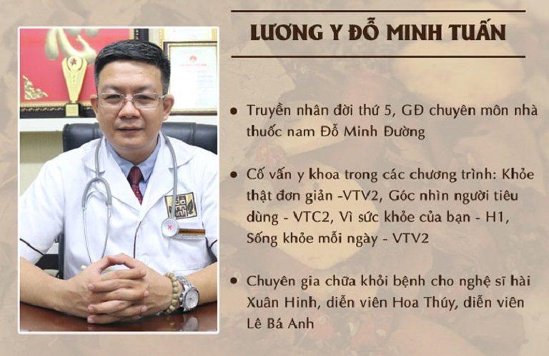 Lương y, bác sĩ Đỗ Minh Tuấn - Chuyên gia hàng đầu về Y học cổ truyền