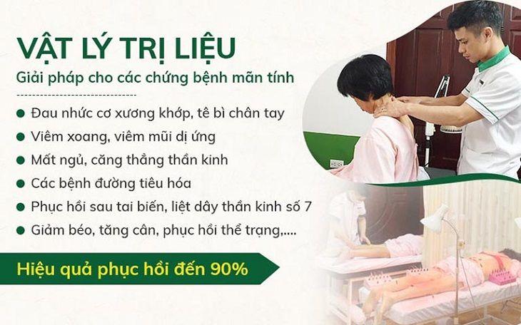 Hơn 90% bệnh nhân đều phục hồi sức khỏe nhanh chóng sau khi điều trị tại Đông phương Y pháp