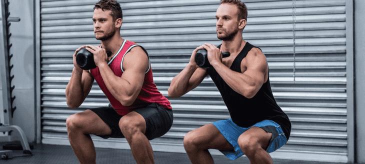 Bài tập giảm mỡ cho nam giới Back Squat