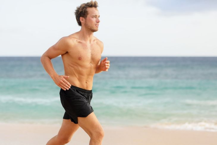 Chạy bộ mỗi ngày để giảm mỡ bụng nam