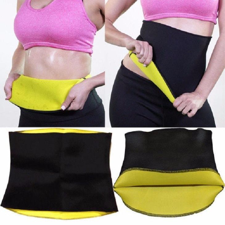 Dùng đai quấn hay đai nịt bụng để giảm mỡ sau sinh hiệu quả