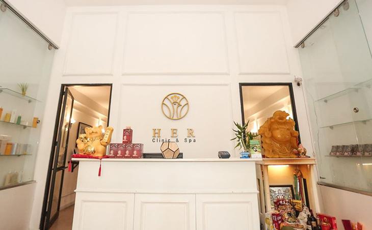 Spa trị mụn Đà Nẵng uy tín - HER Clinic and Spa