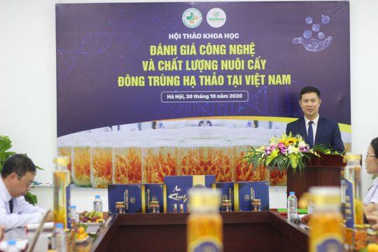 Trung tâm dược liệu Vietfarm tài trợ độc quyền Hội thảo đánh giá công nghệ và chất lượng nuôi cấy ĐTHT tại Việt Nam
