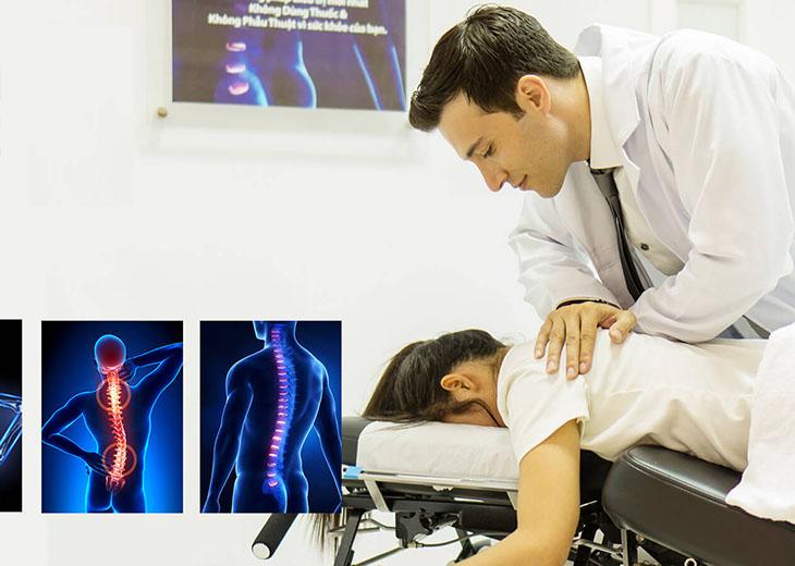 Trị liệu cho bệnh nhân lồi đĩa đệm cột sống cổ