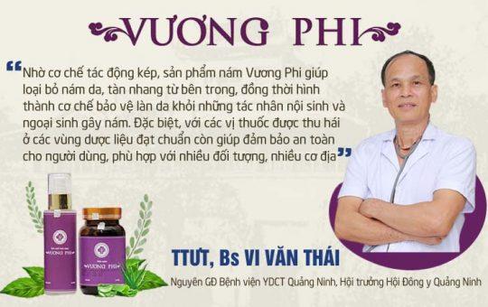 Chuyên gia đánh giá Bộ sản trị Nám, Tàn nhang Vương Phi