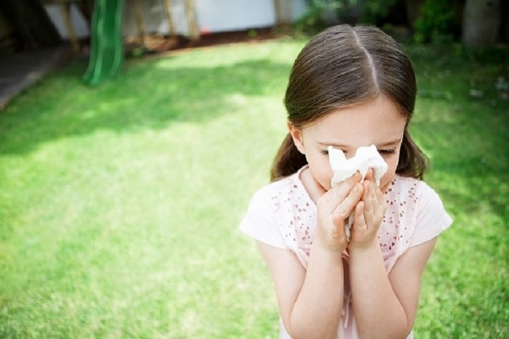 Dị ứng có thể làm tăng nguy cơ viêm họng ở trẻ