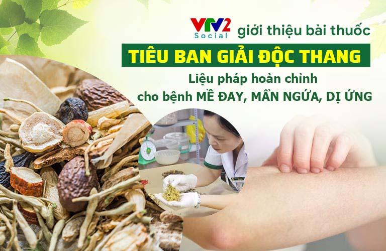 VTV2 giới thiệu bài thuốc Tiêu ban Giải độc thang