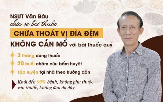 Tin tưởng Đỗ Minh Đường, NSƯT Văn Báu đã thoát khỏi căn bệnh thoát vị đĩa đệm thắt lưng L4 L5