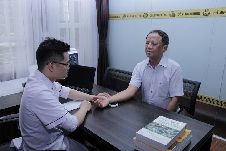 Chú Đỗ Văn Nho tin tưởng lựa chọn điều trị tại Đỗ Minh Đường