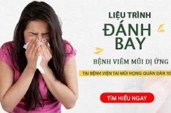 Liệu trình điều trị viêm mũi dị ứng Bệnh viện Tai mũi họng Quân Dân 102