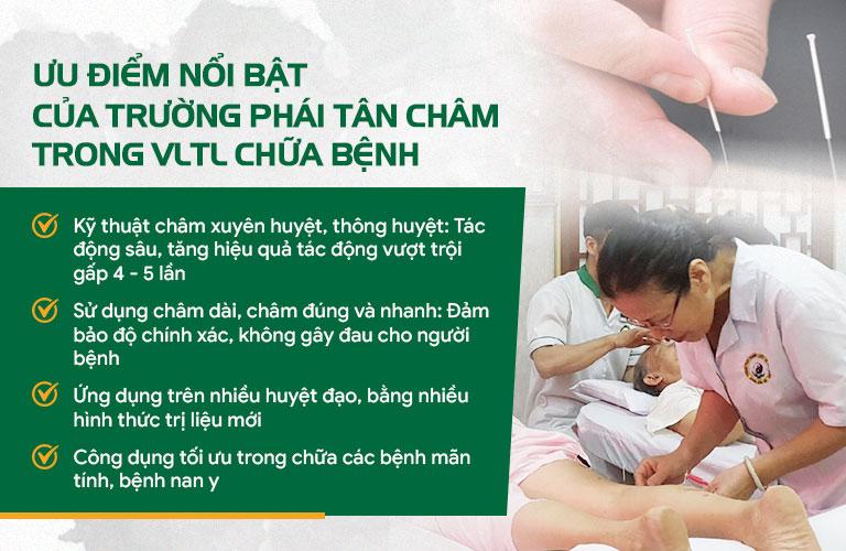 Đông phương Y pháp là địa chỉ duy nhất ứng dụng thành công trường phái Tân châm vào điều trị bệnh