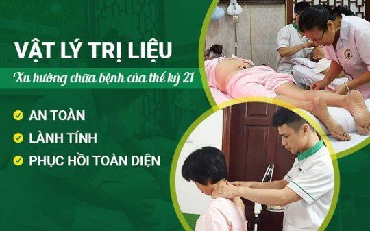 Vật lý trị liệu tại Đông phương Y pháp