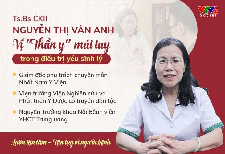 Tiến sĩ, Bác sĩ Nguyễn Thị Vân Anh - Giám đốc chuyên môn Nhất Nam Y Viện