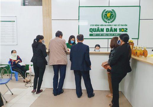 Bệnh viện Xương khớp Quân dân 102: Địa chỉ điều trị xương khớp uy tín được hàng nghìn người bệnh lựa chọn
