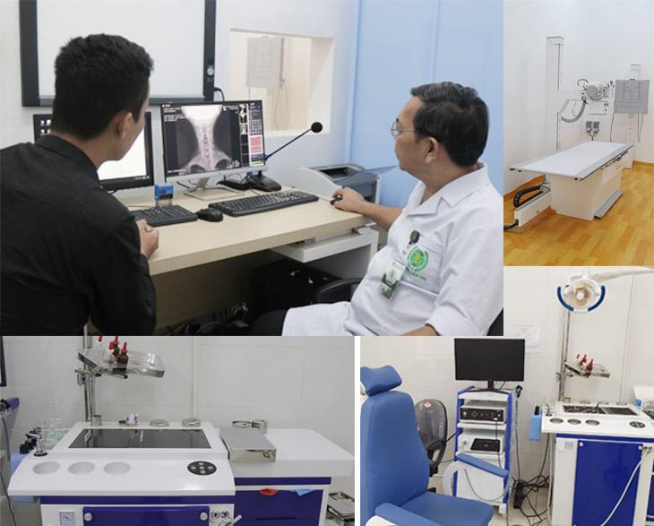 Người bệnh xương khớp được kết hợp thăm khám, chẩn đoán Tây y trong quá trình khám chữa bằng thuốc Y học cổ truyền
