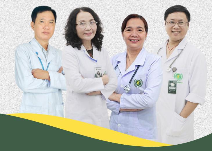 Đội ngũ bác sĩ xương khớp nhiều năm kinh nghiệm khám và điều trị xương khớp