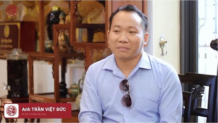 Chia sẻ của anh Trần Việt Đức về bài thuốc Uy Long Đại Bổ